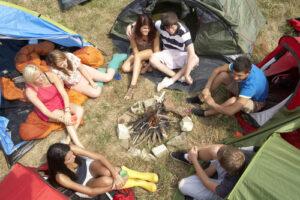 Camping in Huntsville Texas